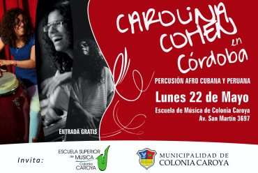 CAROLINA COHEN EN COLONIA CAROYA